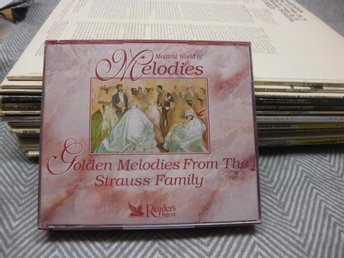 Golden Melodies from the Strauss Family  - Box