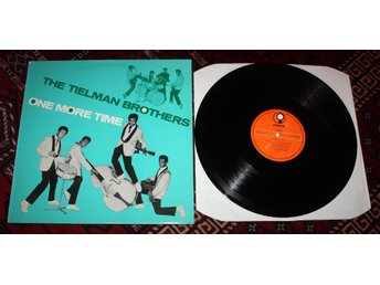 TIELMAN BROTHERS One more Time Surf Rock TIMOR 1960's