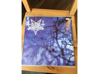 Dark Funeral/Carpathian Forest split LP (BLÅ vinyl) marduk gorgoroth mayhem