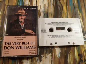 THE VERY BEST OF DON WILLIAMS, LOVE IS ON A ROLL, 1989, KASSETTBAND, KASSETT