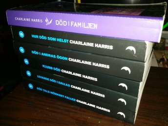 Lot - Charlaine Harris: Del 1-5 & Del 10 i serien om Sookie Stackhouse