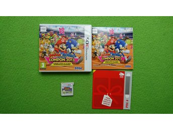 Mario & Sonic at the London 2012 Olympic Games SCN KOMPLETT Nintendo 3DS