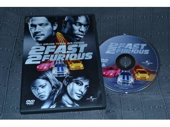 2 Fast 2 Furious DVD Nyskick Se Hit!