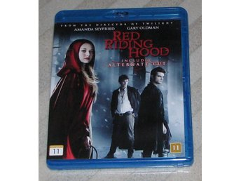 Red Riding Hood - Svensk Text (Blu Ray) Bluray - Amanda Seyfried - Billy Burke -