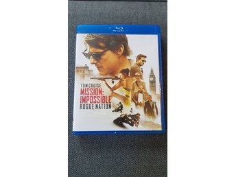 Mission Impossible Rouge Nation Bluray