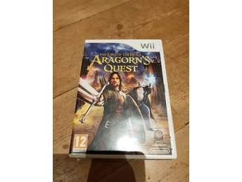 Nintendo Wii The Lord Of The Rings Aragorn's quest