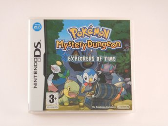 Nintendo DS  --  Pokemon Mystery Dungeon Exploreres of Time    --  PAL