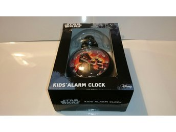 STAR WARS DARTH VADER KIDS ALARM CLOCK NY OÖPPNAD