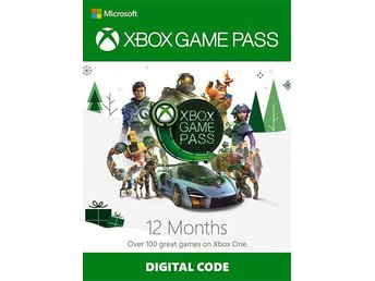 Xbox Game Pass 12 Månader (XBOX ONE) - SNABB LEVERANS!