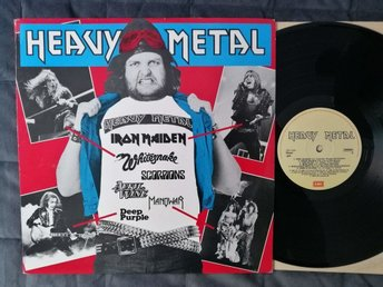 HEAVY METAL - VINYL 1984 - MAIDEN APRIL WINE SCORPIONS DEEP PURPLE MANOWAR FARGO