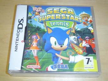 SEGA SUPERSTARS TENNIS NINTENDO DS *NYTT*