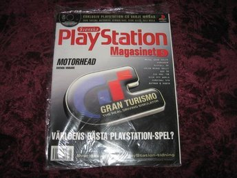 PLAYSTATION MAG Nr5 NY MED CD 5/1998 GRAN TURISMO RETRO