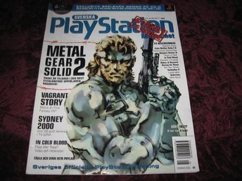 PLAYSTATION MAG NR 32 2000 (METAL GEAR SOLID 2)