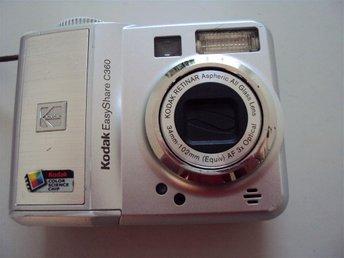 Digitalkamera KODAK EasyShare C360 - 5.0 megapixel AF 3x optical - Laholm - Digitalkamera KODAK EasyShare C360 - 5.0 megapixel AF 3x optical - Laholm