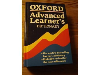 Engelskt lexikon - Oxford Advanced Learner's Dictionary -'Three-in-one'