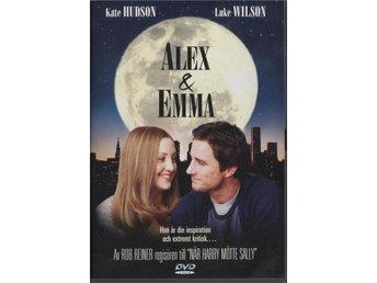 Alex & Emma - 2003 - OOP - DVD - Kate Hudson, Luke Wilson - Bålsta - Alex & Emma - 2003 - OOP - DVD - Kate Hudson, Luke Wilson - Bålsta