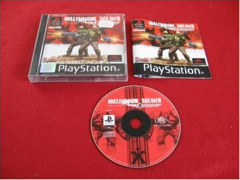 MILLENNIUM SOLDIER till Sony Playstation PSone