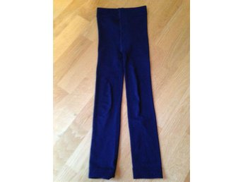 Blåa leggings strl 110/116