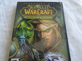 World of Warcraft Burning Crusade Expansion Pack Blizzard spel Mac & PC CD ROM