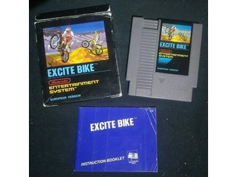 Excite Bike - NES 8-bit CIB SCN