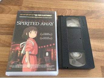 Miyaza  kis Spirited away VHS
