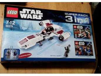 Lego 3 in 1 Starwars 66378 NYSKICK!