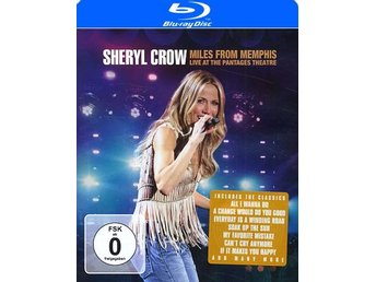 Crow Sheryl: Miles from Memphis 2010 (Blu-ray)