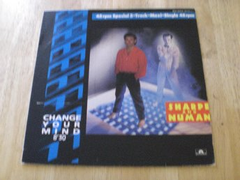 Sharpe And Numan - Change Your Mind 12""