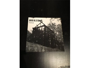 Burzum - Aske mini LP Deathlike Silence Productions original. DSP Mayhem Emperor