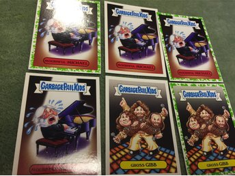 Garbage Pail Kids Mournful Michael Mcdonald Barry Gibb