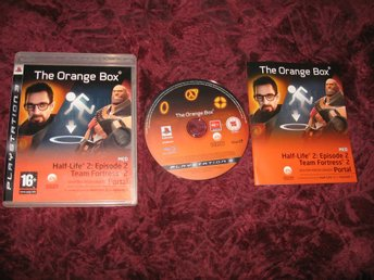 THE ORANGE BOX HALF LIFE 2 EPISODE 2 + TEAM FORTRESS 2 + PORTAL - PLAYSTATION 3