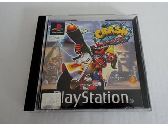 ** PSONE - CRASH BANDICOOT 3 WARPED - MED MANUAL **