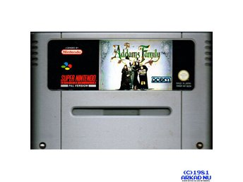 ADDAMS FAMILY SNES