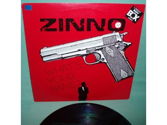 "ZINNO - What's your name , 12""MAXI 1985, beat box"