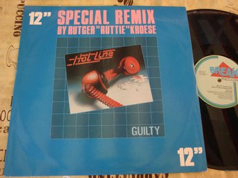 "HOTLINE - GUILTY 12"" 1984"
