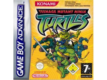 Turtles Tournament Fighters (GBA)  Begagnat