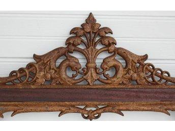 1800-tals järnfris vacker dekoration/överstycke/fris drakar - Sölvesborg - 1800-tals järnfris vacker dekoration/överstycke/fris drakar - Sölvesborg