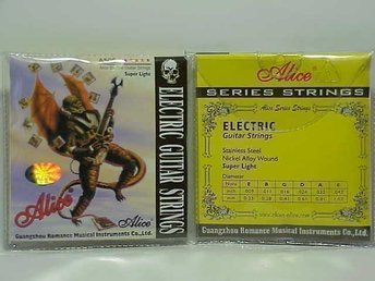 OUTLET -  Alice strings till EL - gitarr A506 Light