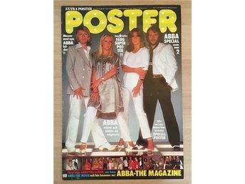 """ABBA POSTER """"ABBA Special"""" Komplett Tidning Poster Nr 1 (1/2) 1978 - ARKIVEX - Stockholm - ABBA POSTER """"ABBA Special"""" Komplett Tidning Poster Nr 1 (1/2) 1978 - ARKIVEX - Stockholm"""