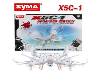 SYMA X5C-1 MED KAMERA OCH 1 ST BATTERI - DRÖNARE/DRONE/QUADCOPTER/RC - Kawaguchi Satama Prefecture - SYMA X5C-1 MED KAMERA OCH 1 ST BATTERI - DRÖNARE/DRONE/QUADCOPTER/RC - Kawaguchi Satama Prefecture