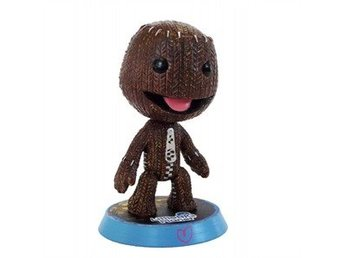 Little Big Planet Happy Sackboy Large Wobblehead (Official) (22cm) (Ny)