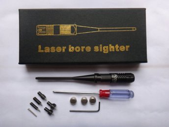 Universal laser Boresighter kit .22 – .50 Cal