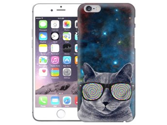 iPhone 6/6s Skal Cat Space