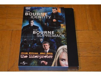 The Bourne Identity / Bourne Supremacy / Tolken ( Matt Damon ) 3-Disc DVD Box