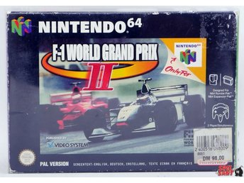 F-1 World Grand Prix II (2) (inkl. Skyddsbox)