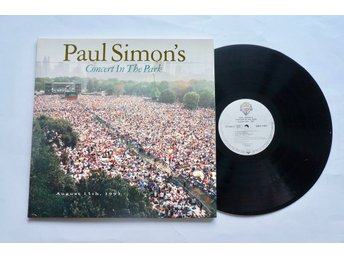 ** Paul Simon ‎– Paul Simon's Concert In The Park **