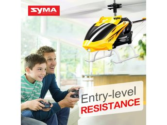 Syma W25 2 CH 2 Channel Mini RC Helikopter RC Drone Med Gyro Crash Resistant
