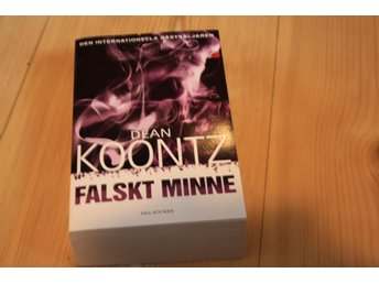 FALSKT MINNE AV DEAN KOONTZ POCKET NY