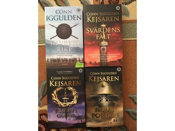 4 böcker från Conn Iggulden, mycket bra skick! - Stockholm - 4 böcker från Conn Iggulden, mycket bra skick! - Stockholm