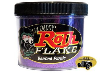 Beatnik Purple Roth Flake ( Custom, Lack ,metalflake